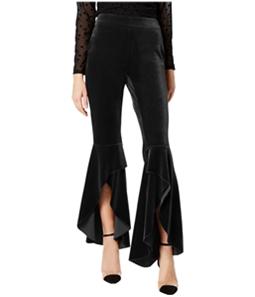 I-N-C Womens Velvet Casual Trouser Pants