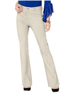 I-N-C Womens Curvy Bootcut Casual Trouser Pants