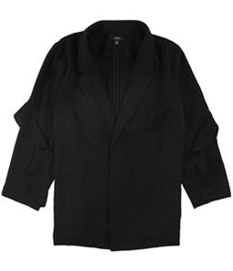 Alfani Womens Flounce Jacket