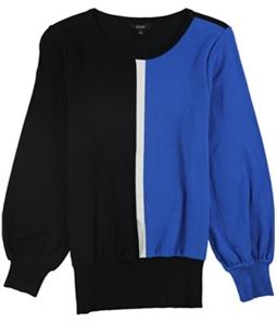 Alfani Womens Colorblocked Knit Sweater