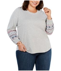 Style & Co. Womens Alpine Twist Sweatshirt