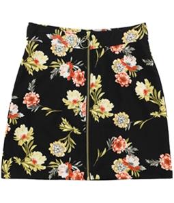 I-N-C Womens Floral Mini Skirt