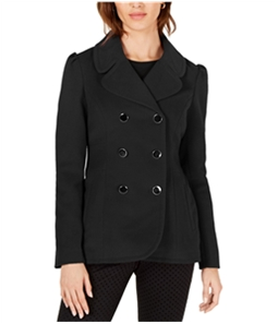 maison Jules Womens Double Breasted Pea Coat
