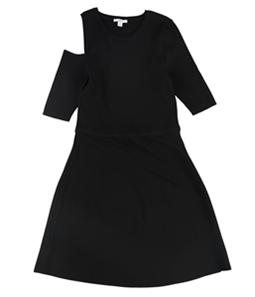 bar III Womens Cutout A-line Dress