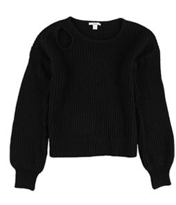 bar III Womens Balloon Sleeve Pullover Sweater