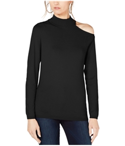 I-N-C Womens One Shoulder Pullover Sweater