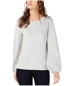 I-N-C Womens Balloon-Sleeve Sweatshirt