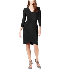 I-N-C Womens Ruched Sheath Dress