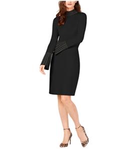 I-N-C Womens Studded Sweater Dress