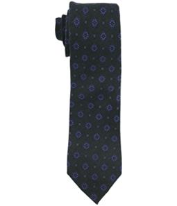 Tasso Elba Mens Neri Medallion Self-tied Necktie