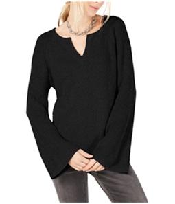 I-N-C Womens Fuzzy Knit Sweater