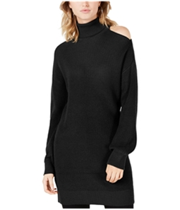 bar III Womens Cold Shoulder Pullover Sweater