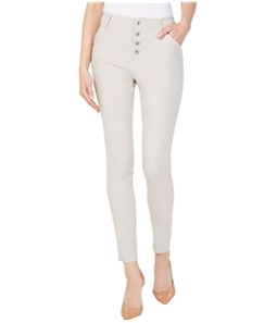 I-N-C Womens Exposed Button Casual Trouser Pants