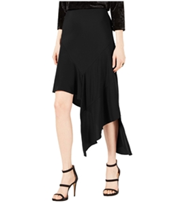 bar III Womens Asymmetrical Midi Skirt