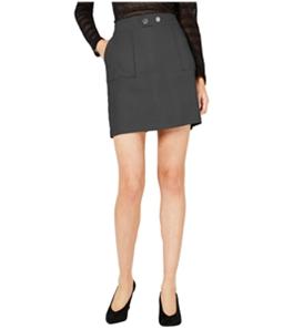 I-N-C Womens Suede Mini Skirt