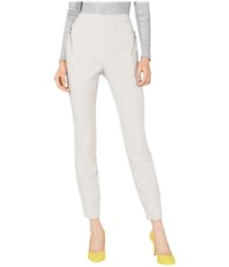 I-N-C Womens Zip-Pocket Casual Trouser Pants