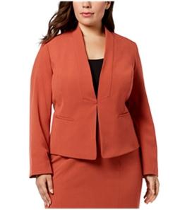 Nine West Womens Stand Collar Blazer Jacket