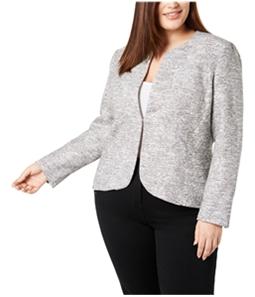 Anne Klein Womens Tulip Blazer Jacket