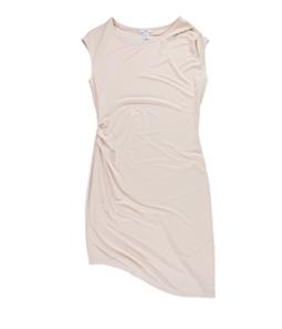 bar III Womens Asymmetrical Bodycon Dress