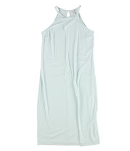 bar III Womens Faux-Wrap Shift Dress