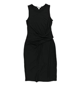 bar III Womens Runched Bodycon Dress