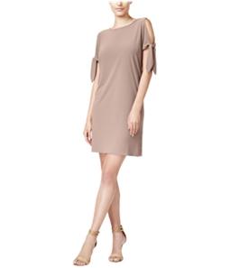 bar III Womens Tie Detail Shift Dress