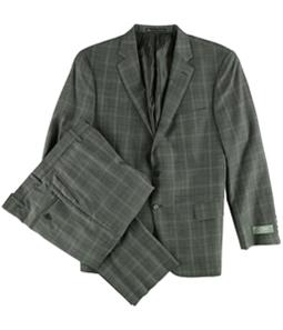 Hart Schaffner Marx Mens Window Two Button Formal Suit