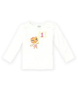 Gymboree Girls #1 Kitty Embellished T-Shirt