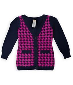 Gymboree Girls Houndstooth Cardigan Sweater