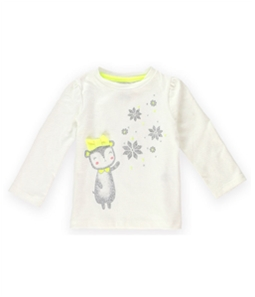 Gymboree Girls Snow Cub Embellished T-Shirt