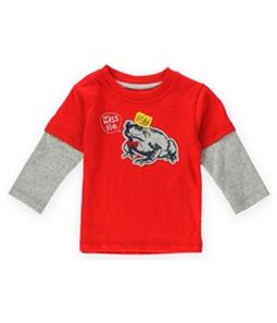Gymboree Boys Kiss Me Frog Embellished T-Shirt