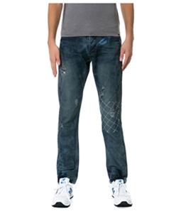 Born Fly Mens The Notorious Denim Straight Leg Jeans