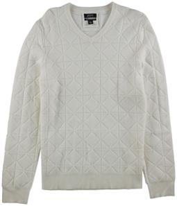 Alfani Mens V-Neck Wool Pullover Sweater