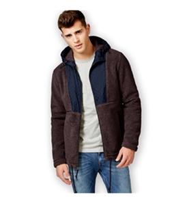 American Rag Mens Fuzzy Feeling Fleece Jacket