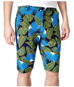 American Rag Mens Slim Fit Tropical Casual Bermuda Shorts