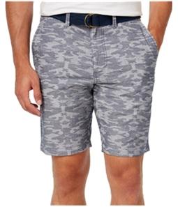 American Rag Mens Southwest Chambray Casual Walking Shorts