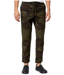 American Rag Mens Camo Twisted Casual Jogger Pants