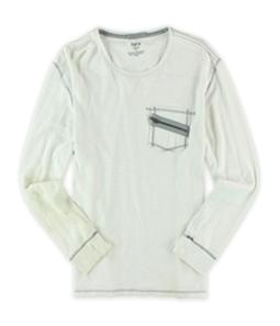 bar III Mens Solidl Henley Shirt