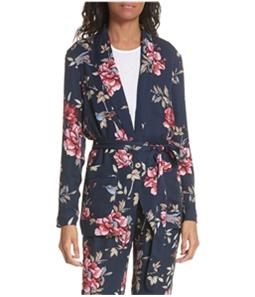 Joie Womens Anasophia One Button Blazer Jacket