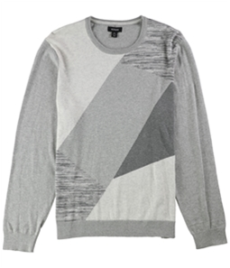 Alfani Mens Angled Colorblocked Pullover Sweater