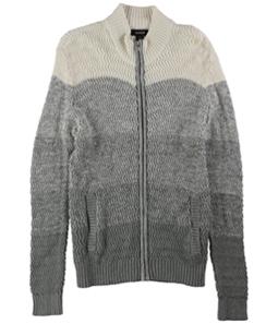 Alfani Mens Textured Ombre Cardigan Sweater