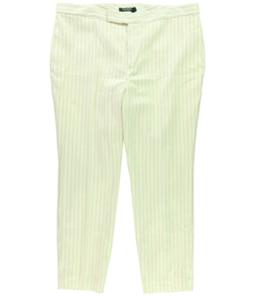 Ralph Lauren Womens Twill Casual Trouser Pants