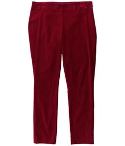 Ralph Lauren Womens Stretch Velvet Casual Cropped Pants