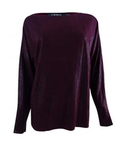 Ralph Lauren Womens Dolman Sleeve Knit Sweater
