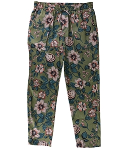 Ralph Lauren Womens Silky Casual Cropped Pants