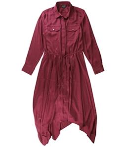 Ralph Lauren Womens Satin A-line Dress
