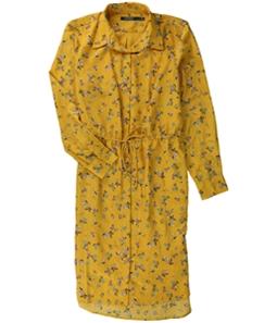 Ralph Lauren Womens Floral Shirt Dress