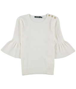 Ralph Lauren Womens Elbow Sleeve Pullover Sweater