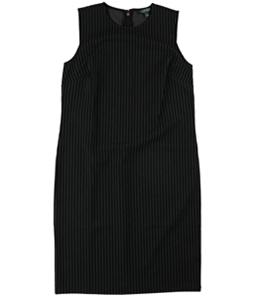Ralph Lauren Womens Sleeveless Shift Dress