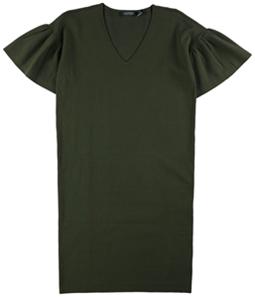 Ralph Lauren Womens Short Sleeve Sweater Dress